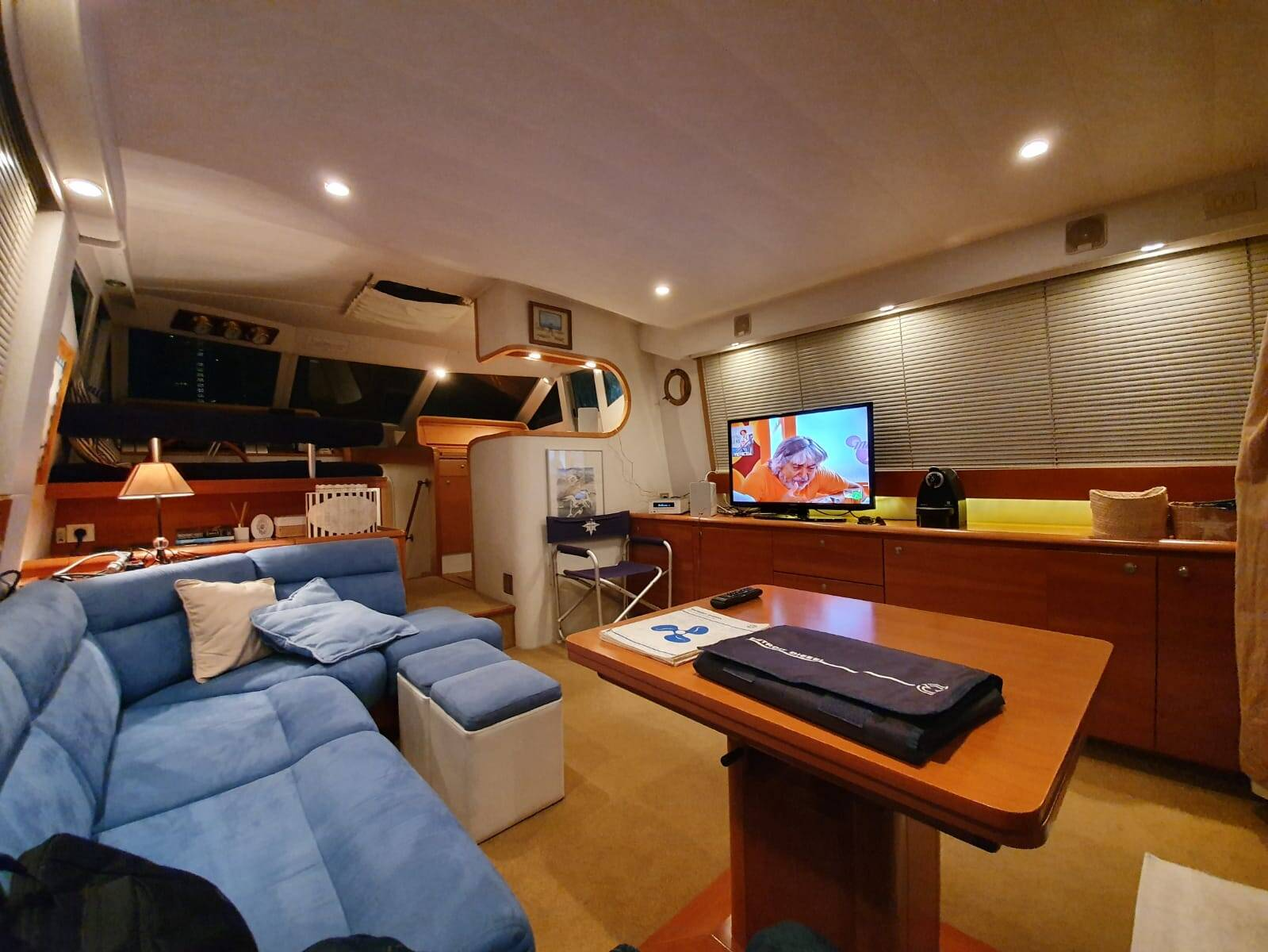 lounge 2 Rodman Motor Yacht For Sale Barcelona Spain