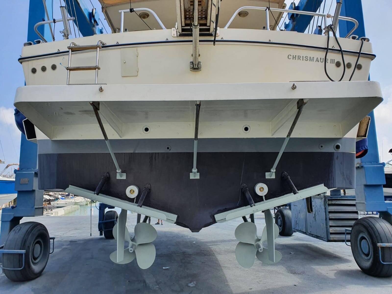 aft hull Rodman Motor Yacht For Sale Barcelona Spain
