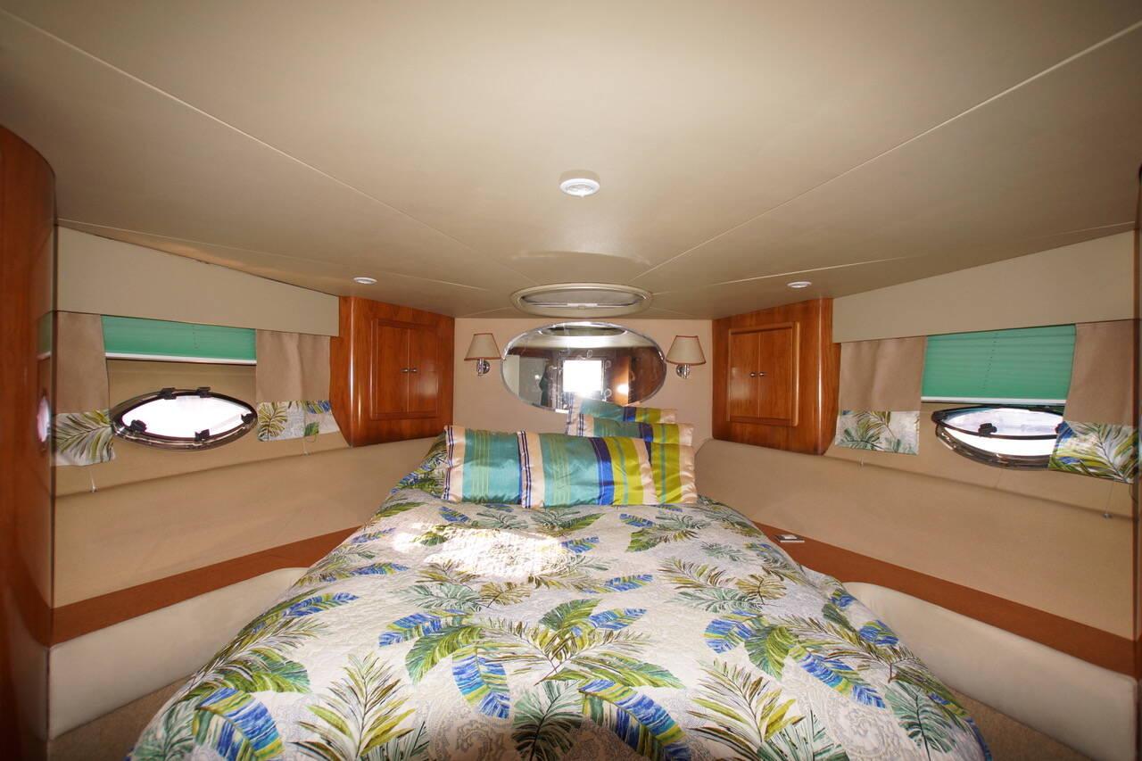 master cabin Rodman Motor Yacht For Sale Barcelona Spain