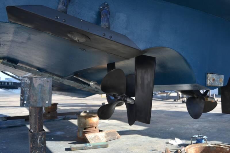 propeller 2 Rodman Motor Yacht For Sale Barcelona Spain
