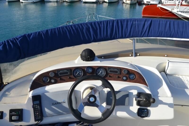 steering Rodman Motor Yacht For Sale Barcelona Spain