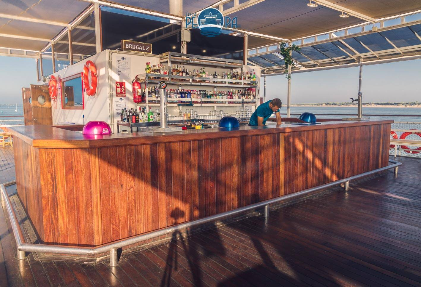 upper bar Events Ferry Ship For Sale