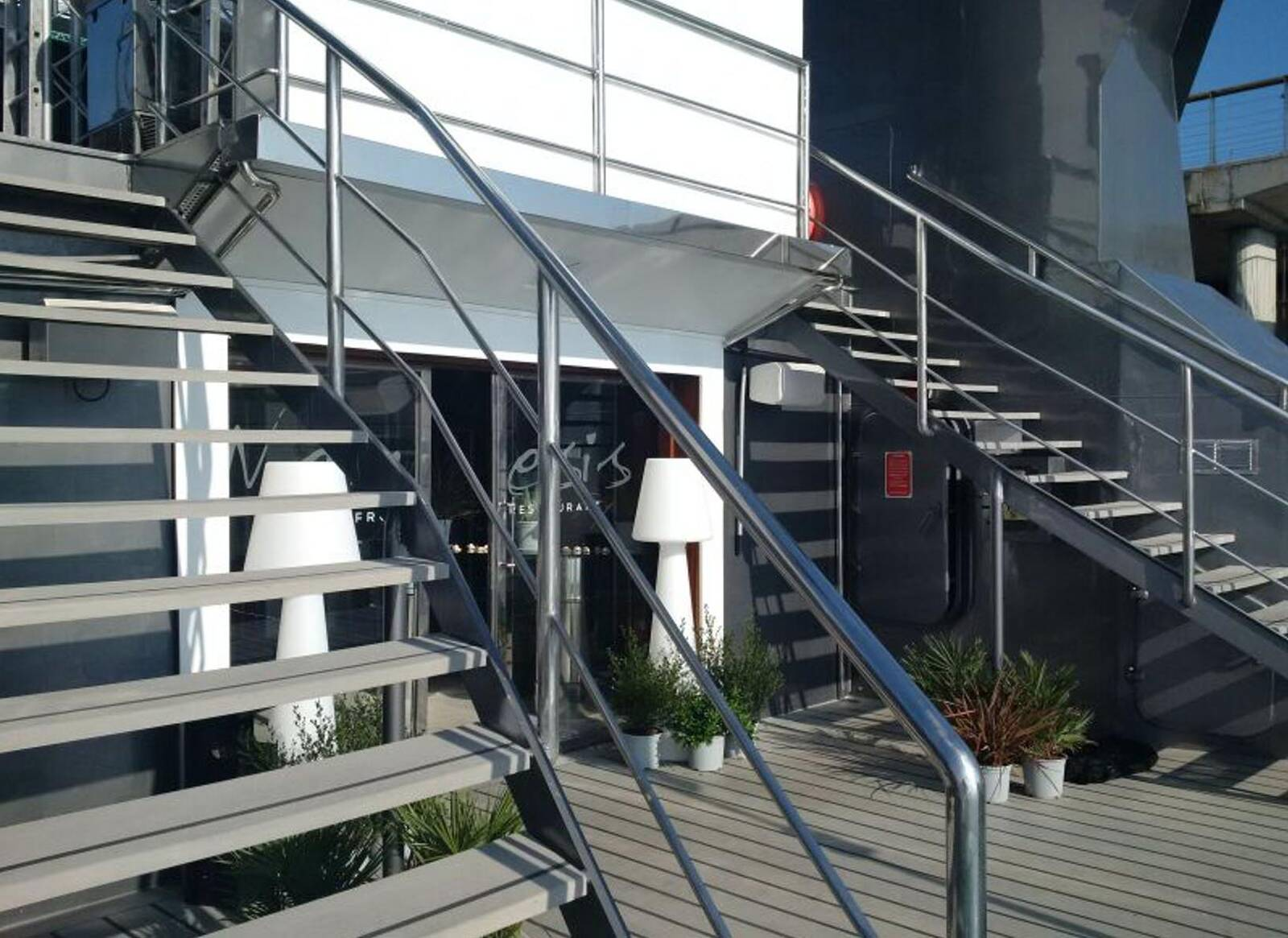 Steps Restaurant Club Ship Disco Boat For Sale