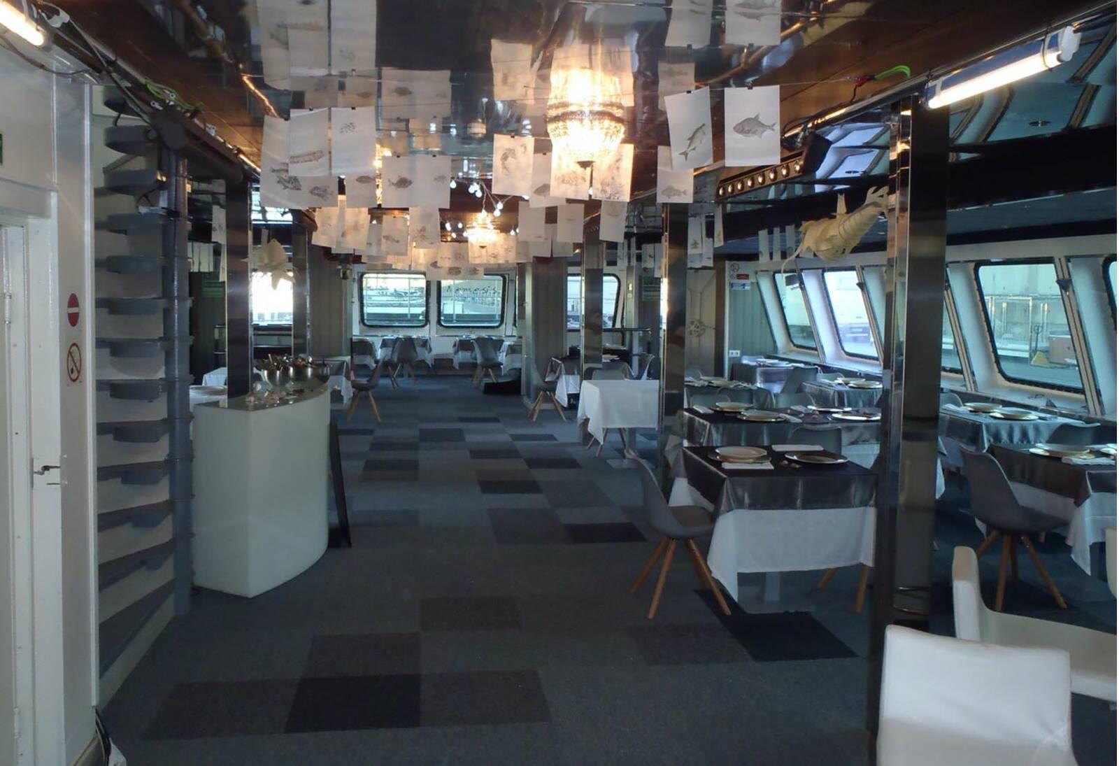 Resteraun caf Restaurant Club Ship Disco Boat For Sale