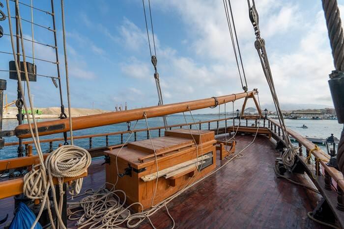 foredeck Pirate Ship Film Ship Replica For Sale