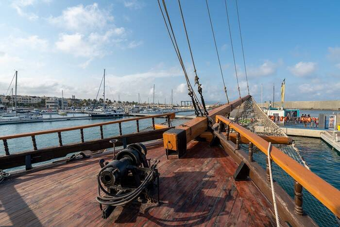 deck 4 Pirate Ship Film Ship Replica For Sale
