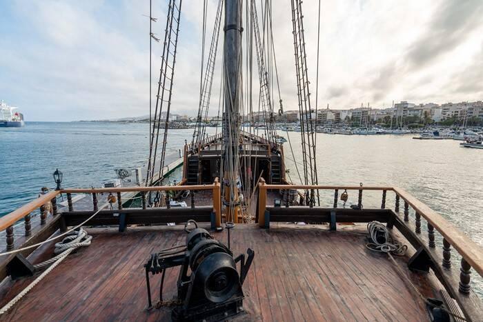aft 2 Pirate Ship Film Ship Replica For Sale