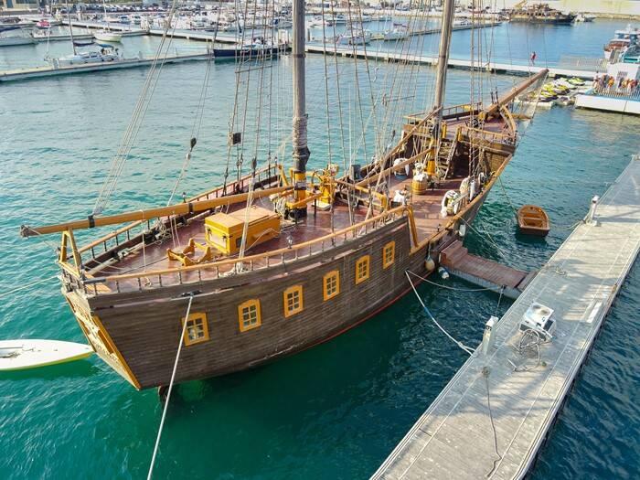 pontoon Pirate Ship Film Ship Replica For Sale