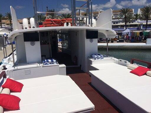 Tourist boat for sale top deck area