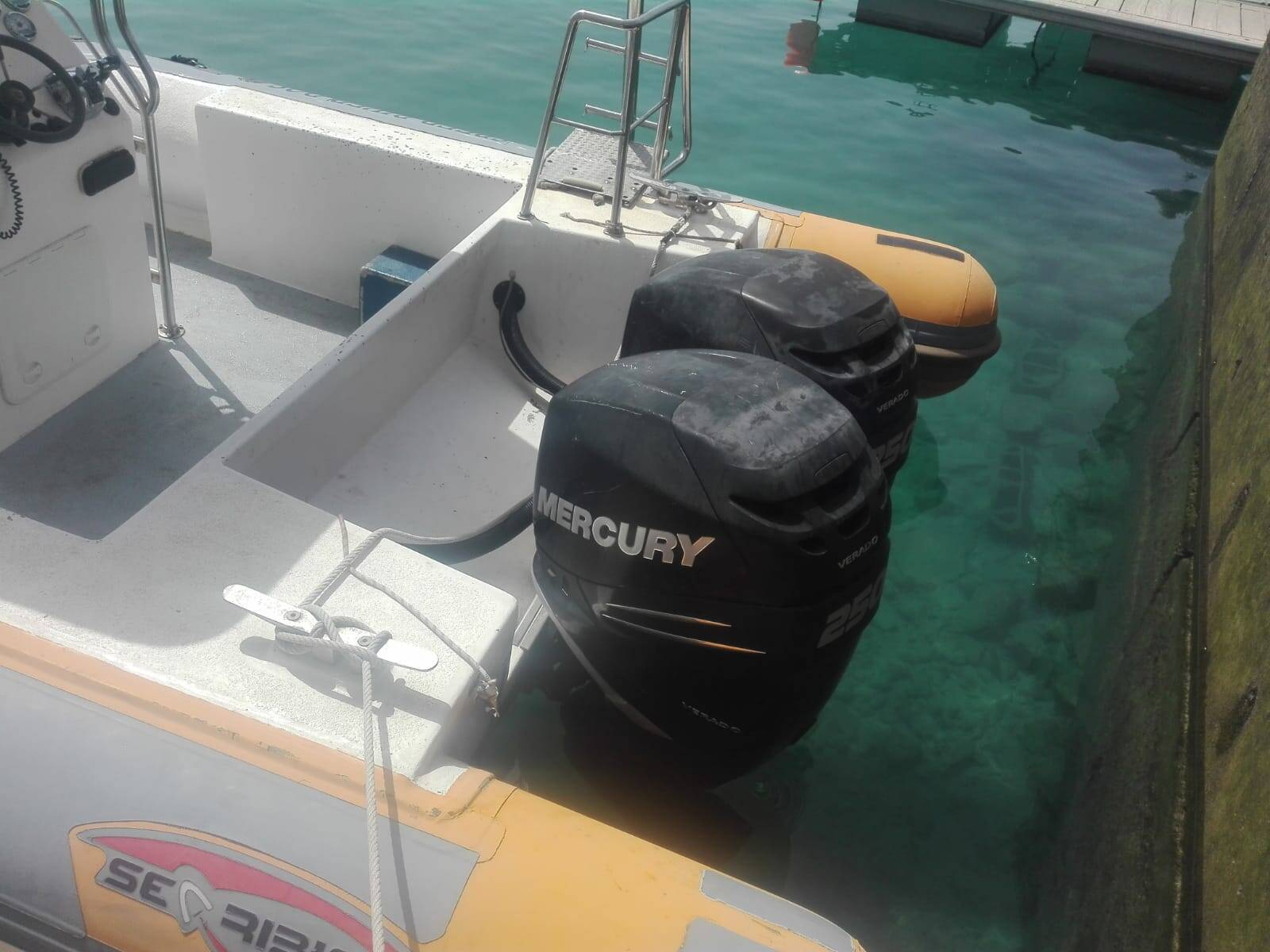 side back RIB Rigid Inflatable Boat For Sale Model 1050 pro