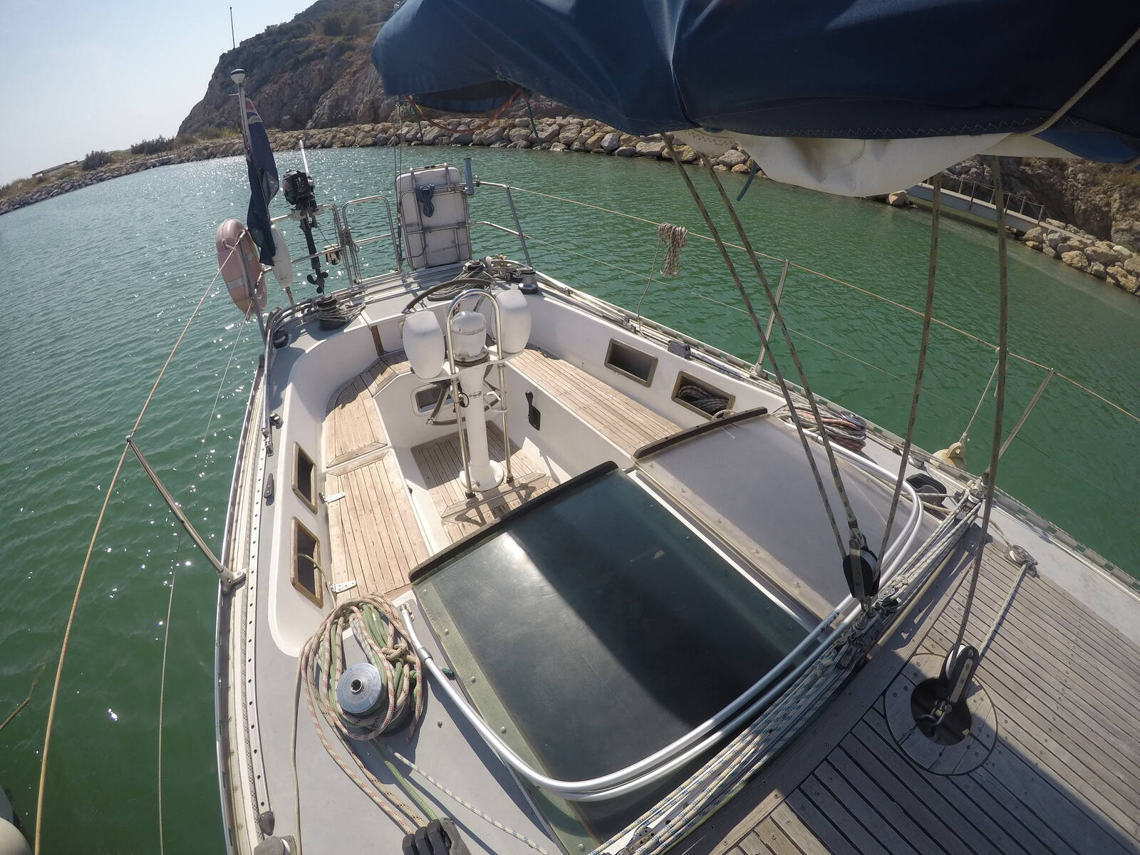 Ansa 42 Sailing Yacht Cockpit