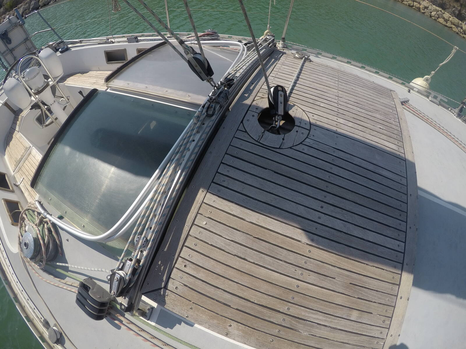 Ansa 42 Sailing Yacht Deck