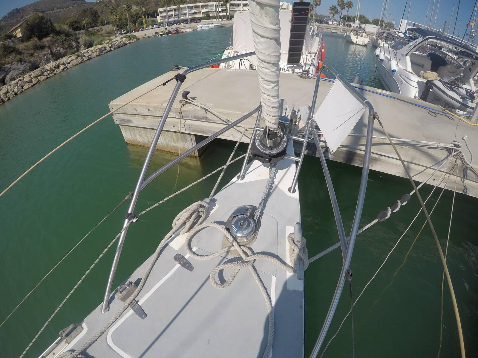 Ansa 42 Sailing Yacht bow