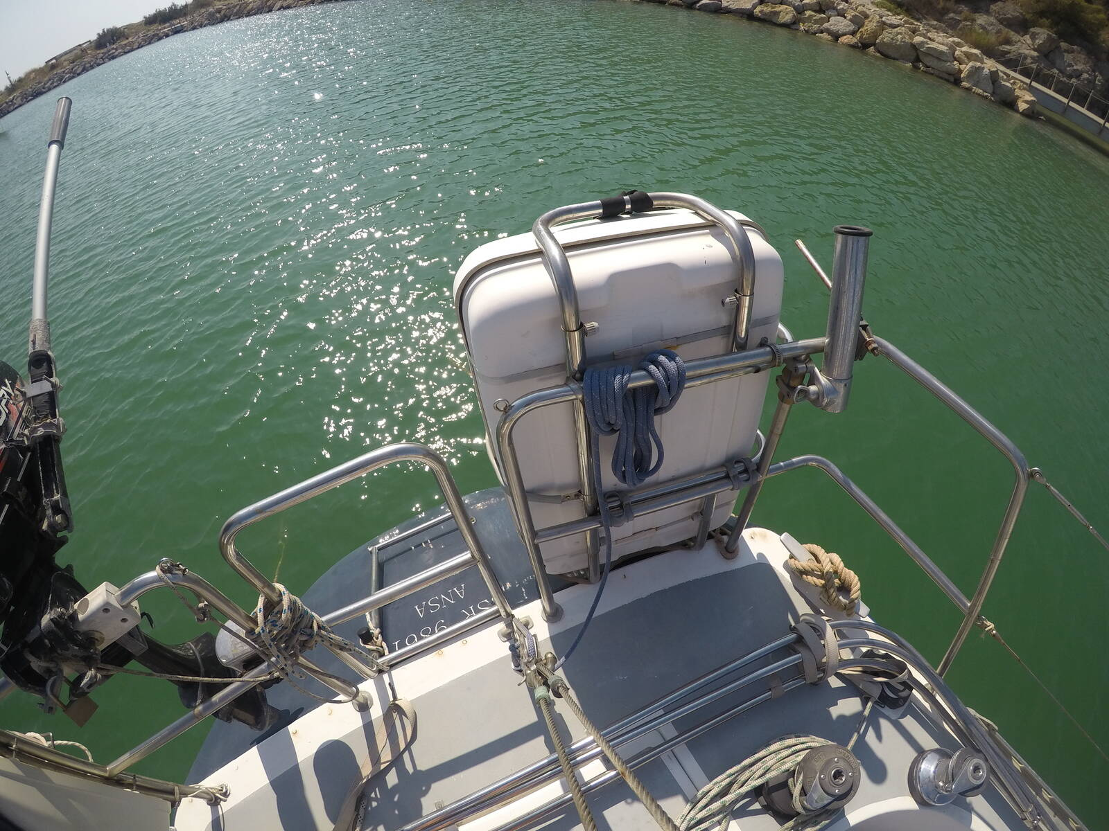 Ansa 42 Sailing Yacht Liferaft