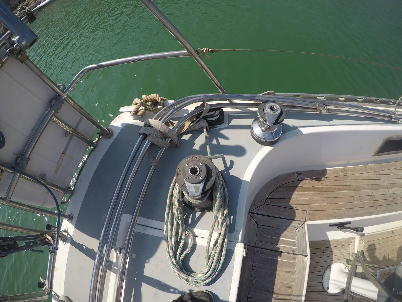 Ansa 42 Sailing Yacht Winches