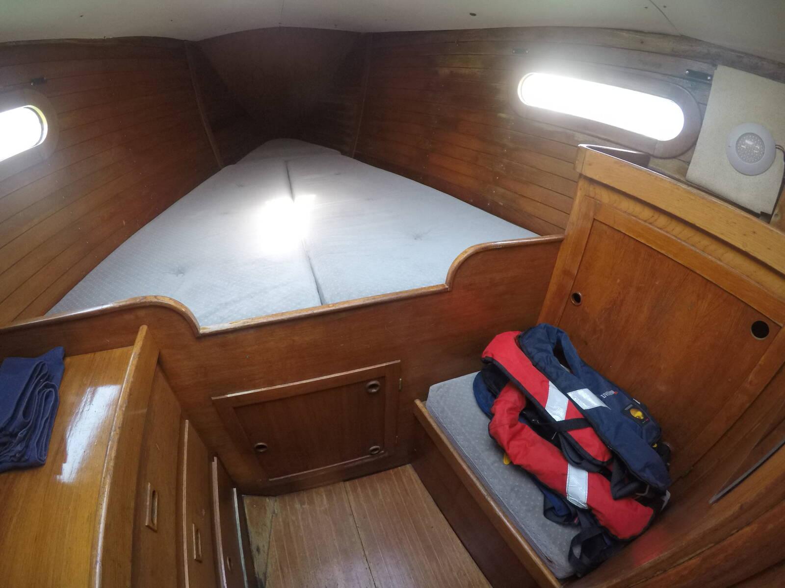 Ansa 42 Sailing Yacht Aft Cabin
