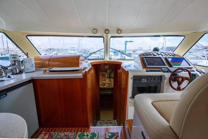 Rodman 41 Cruiser Navigation