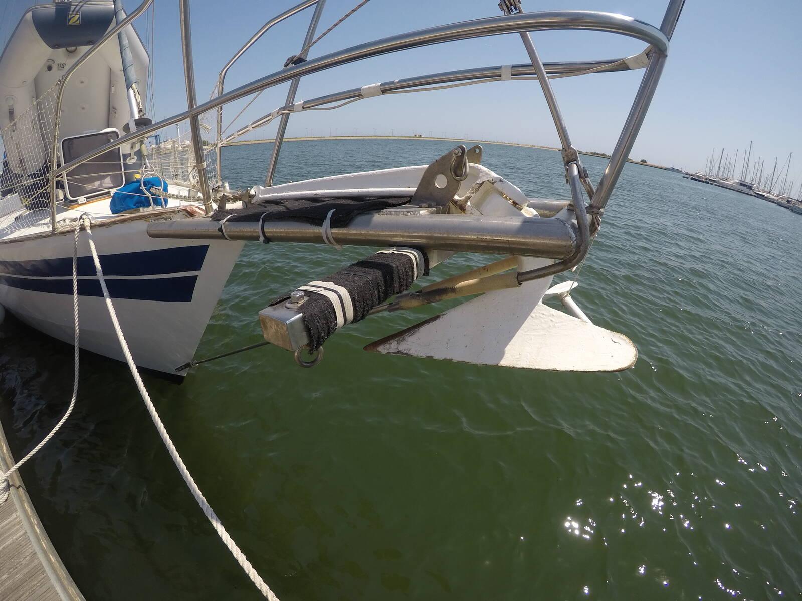 Van de Stadt Sailboat Steel anchor