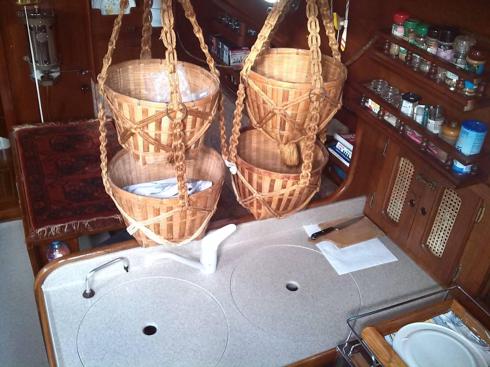 Alajuela 38 Sailing boat long keel boat baskets