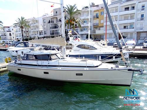 Soler-35 FC Lift Keel Deck Saloon Yacht