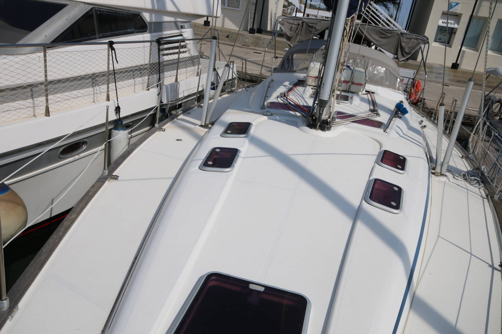 Bavaria 46 Yacht Deck on Boat 2