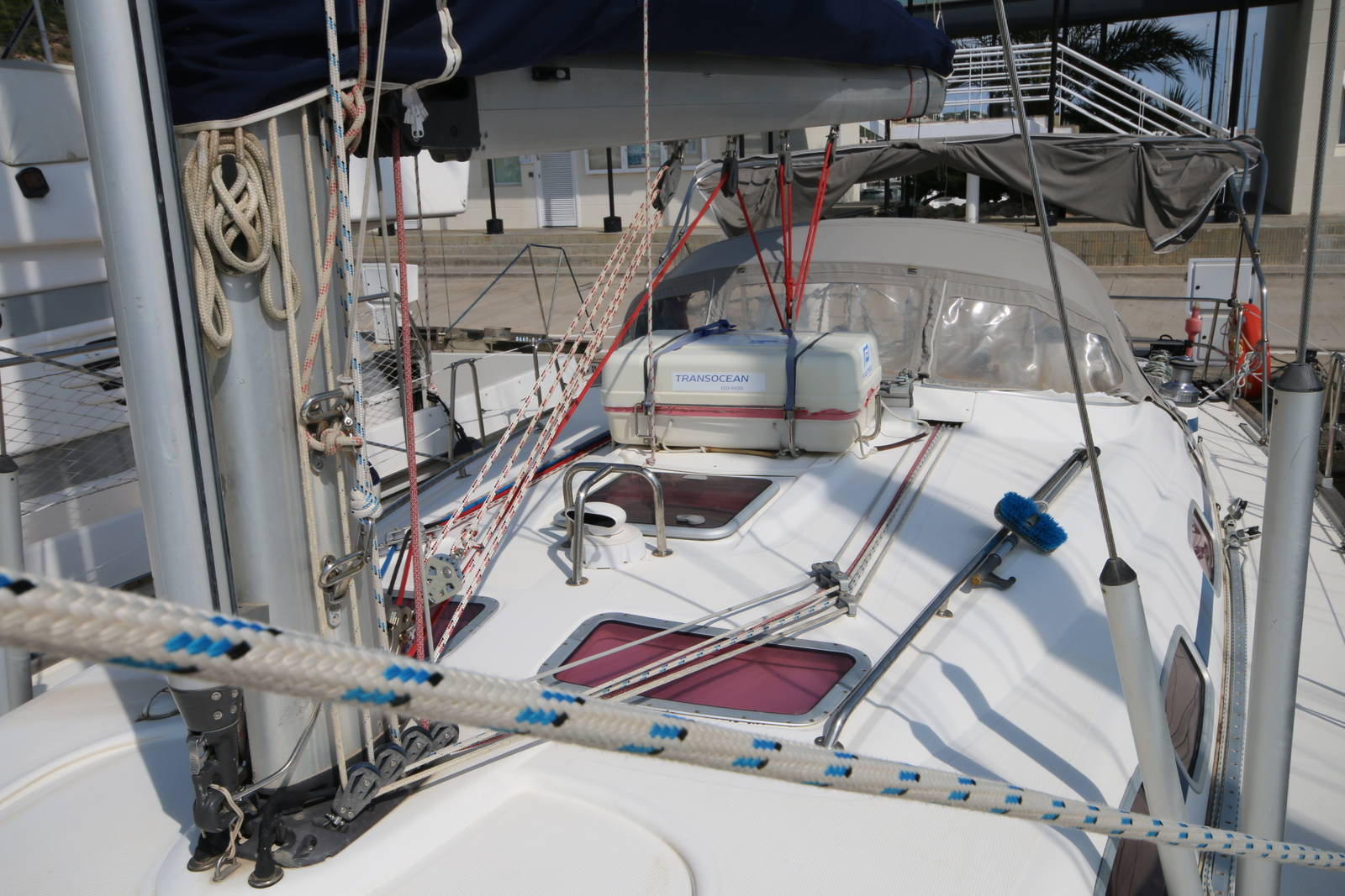Bavaria 46 Yacht Deck on Boat 3