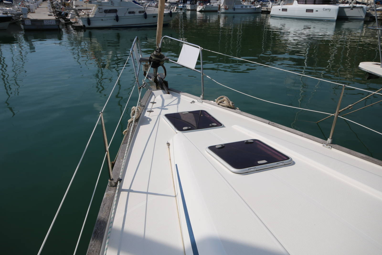 Bavaria 46 Yacht Deck on Boat 4