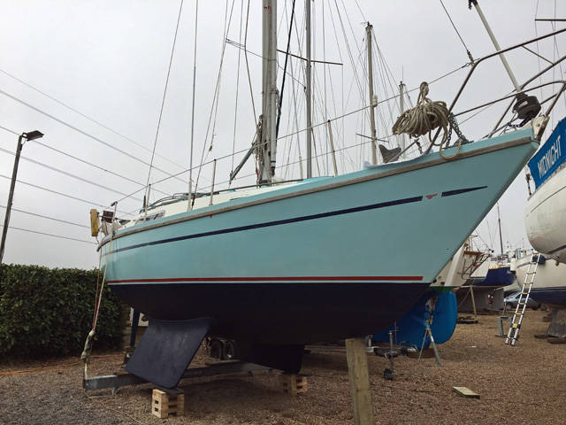 Sadler 29 Antifouled 2019