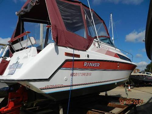 rinker fiesta vee 250 1990 yacht boat for sale in hoo marina kent rh networkyachtbrokers com