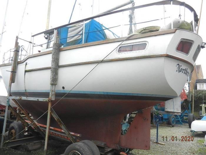 Northshore_Yachts_Claymore_30_Motorsailer