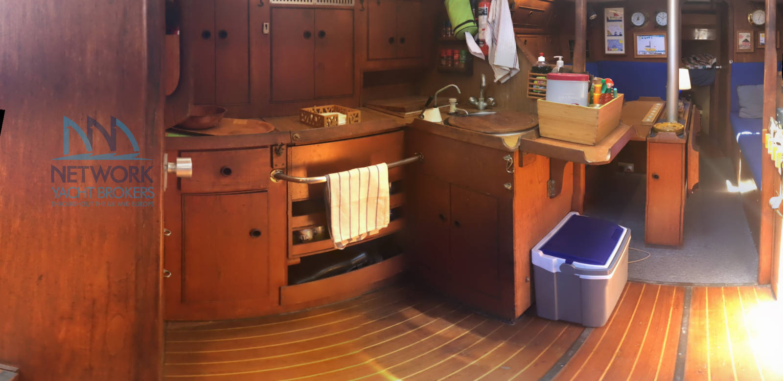 view galley Grampian 37 for sale