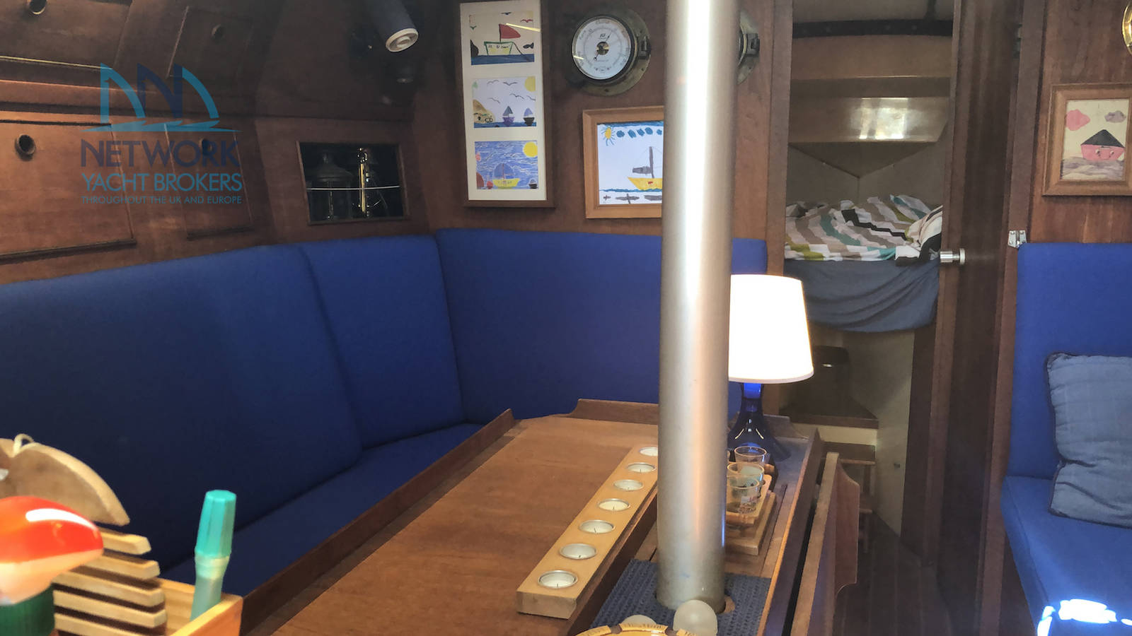 View saloon Grampian 37 for sale
