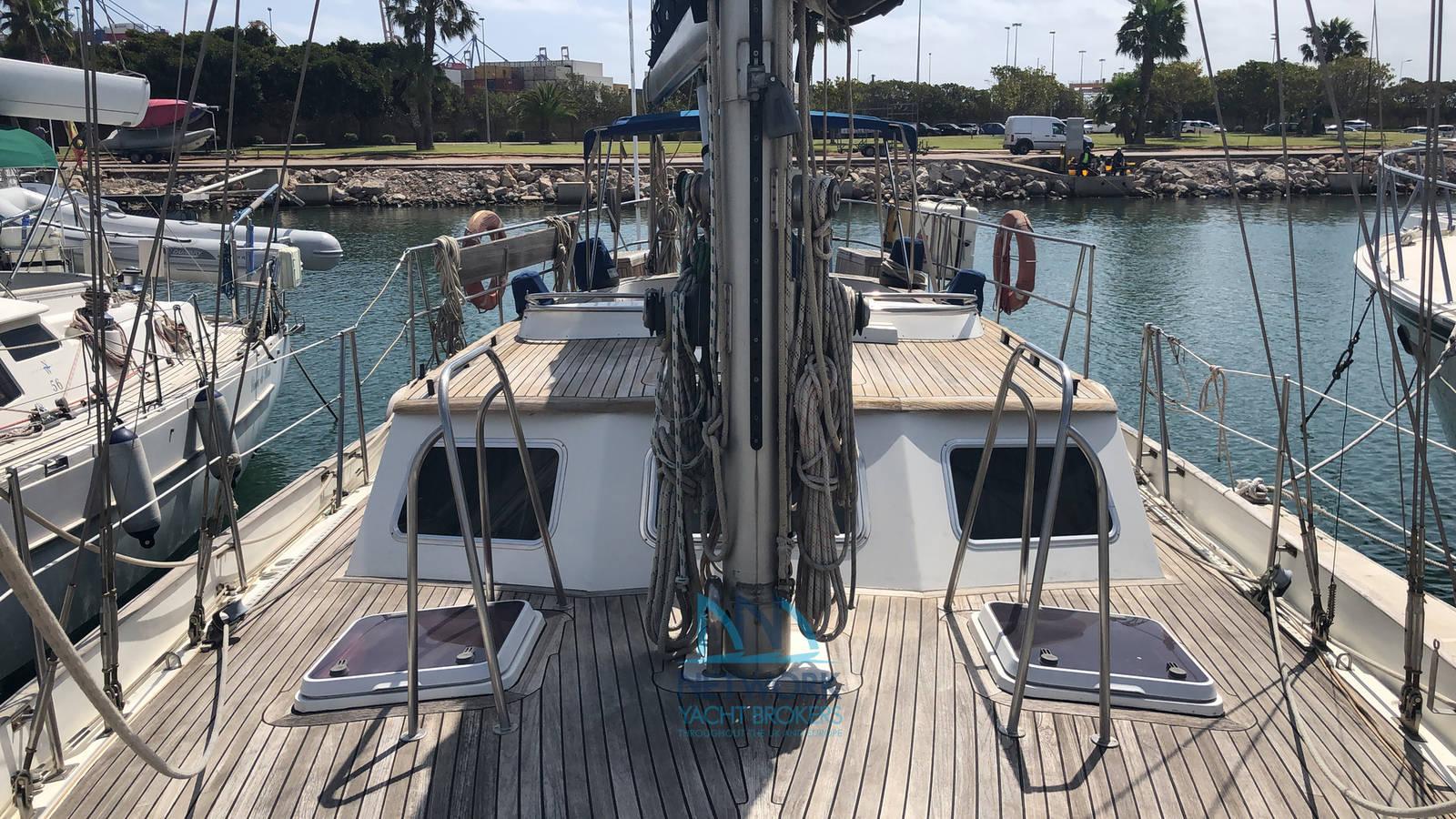 deck forward area