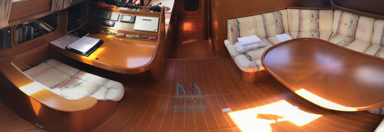 View saloon Belliure 50 for sale