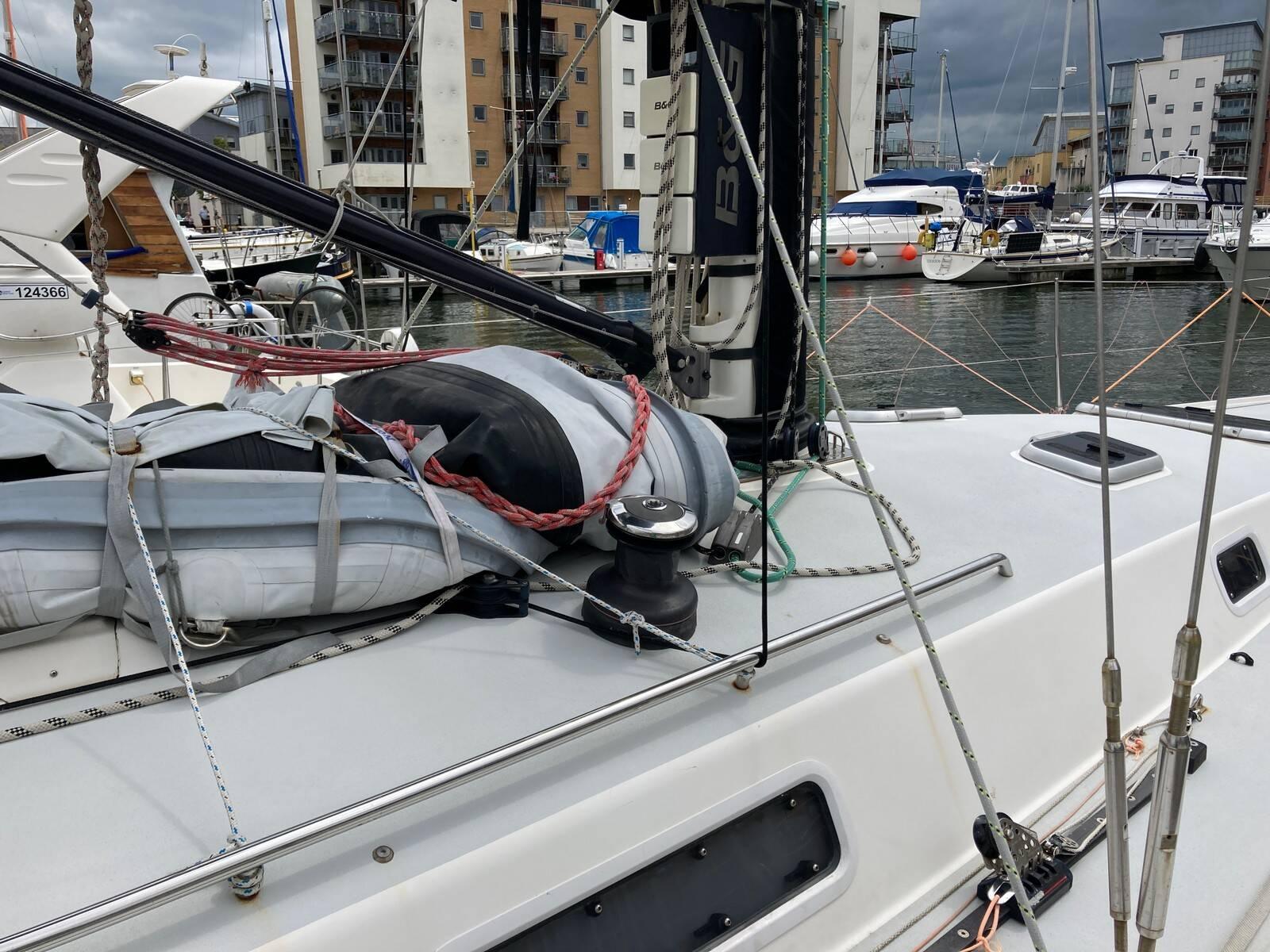 J/133 mast winch
