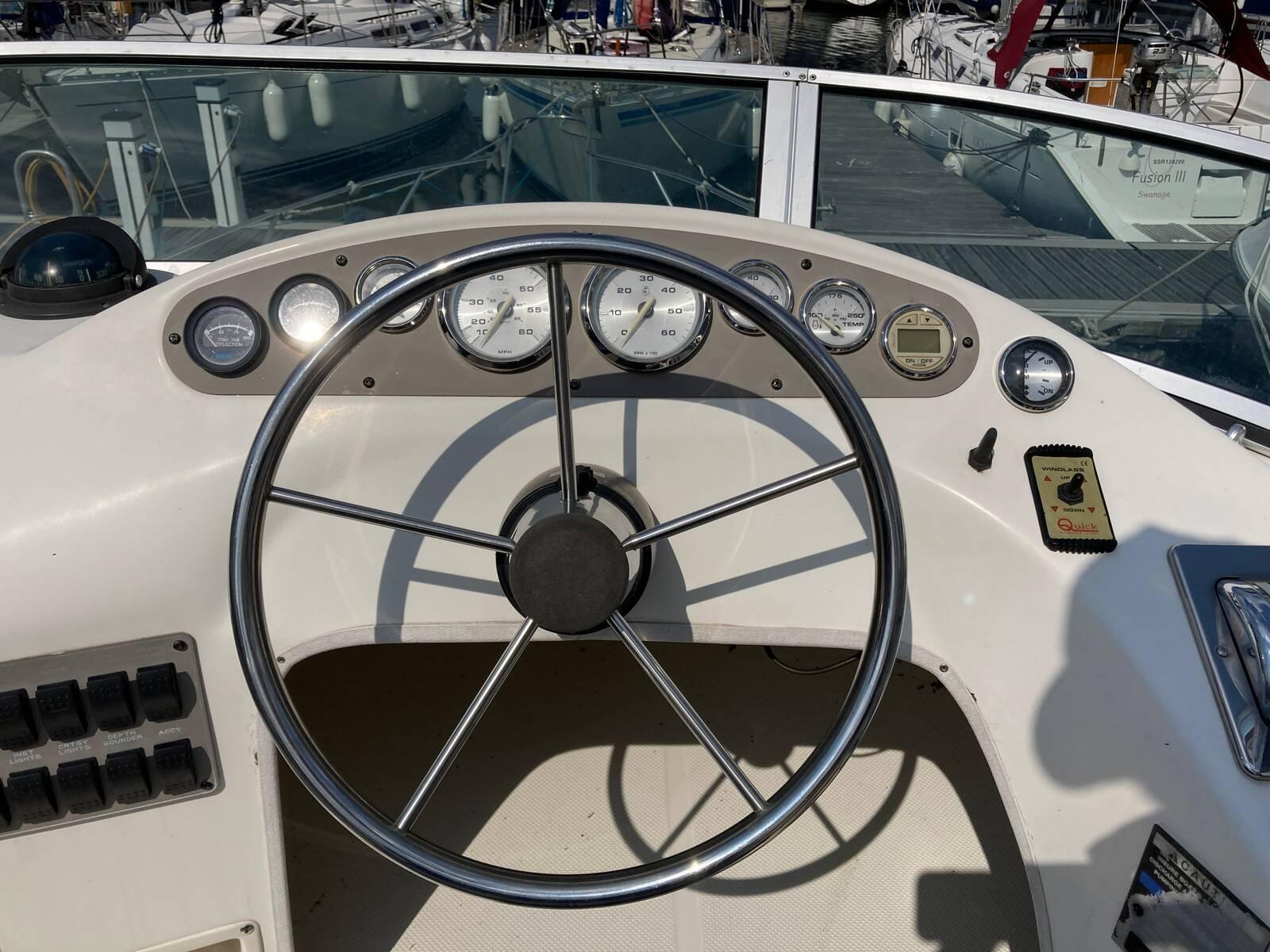 Bayliner 288 fly wheel