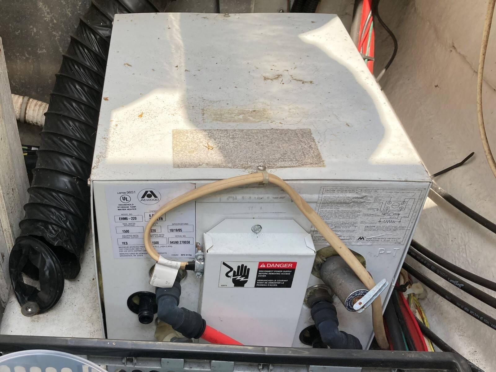 Bayliner 288 immersion heater