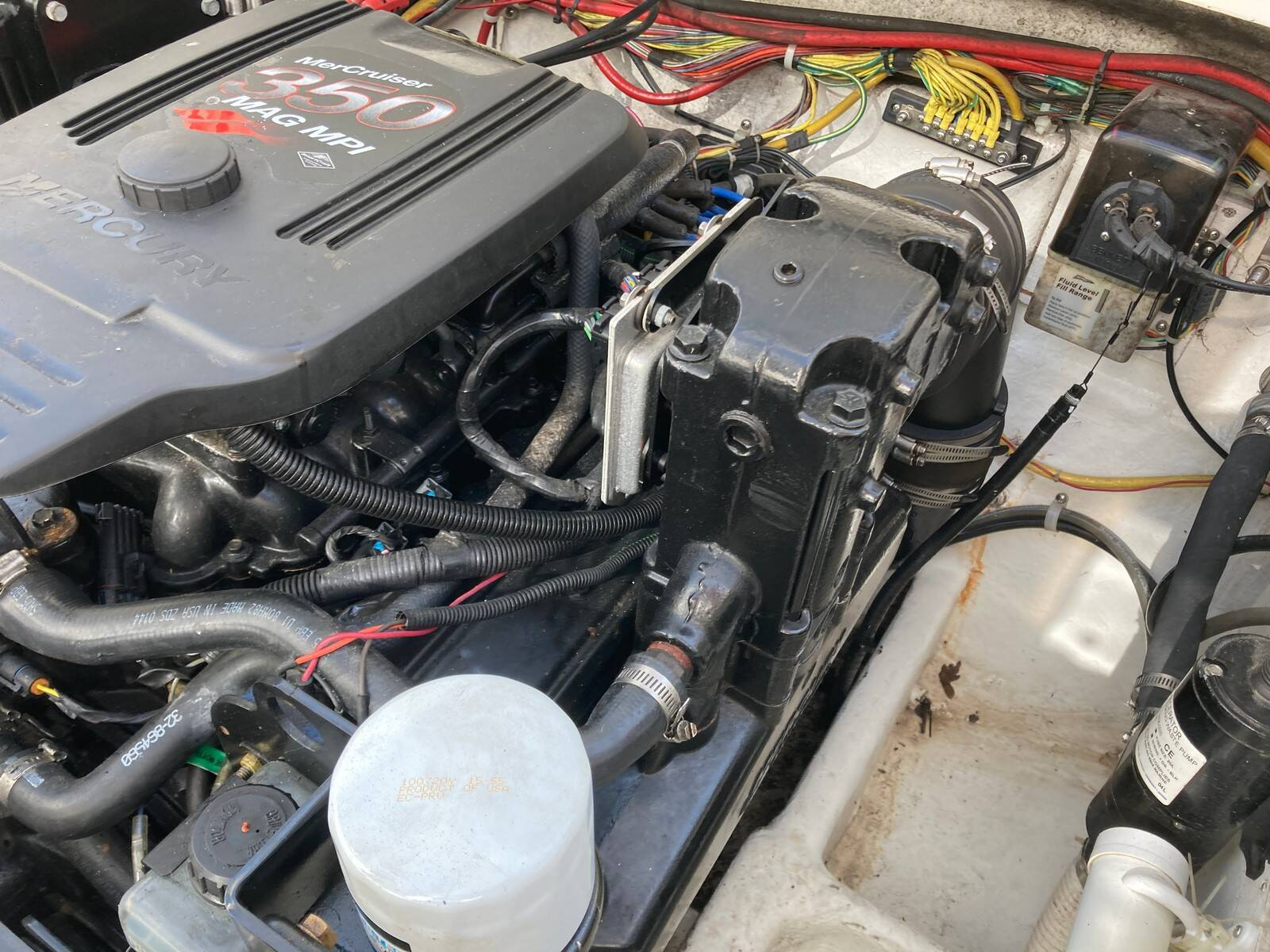 Bayliner 288 engine 8