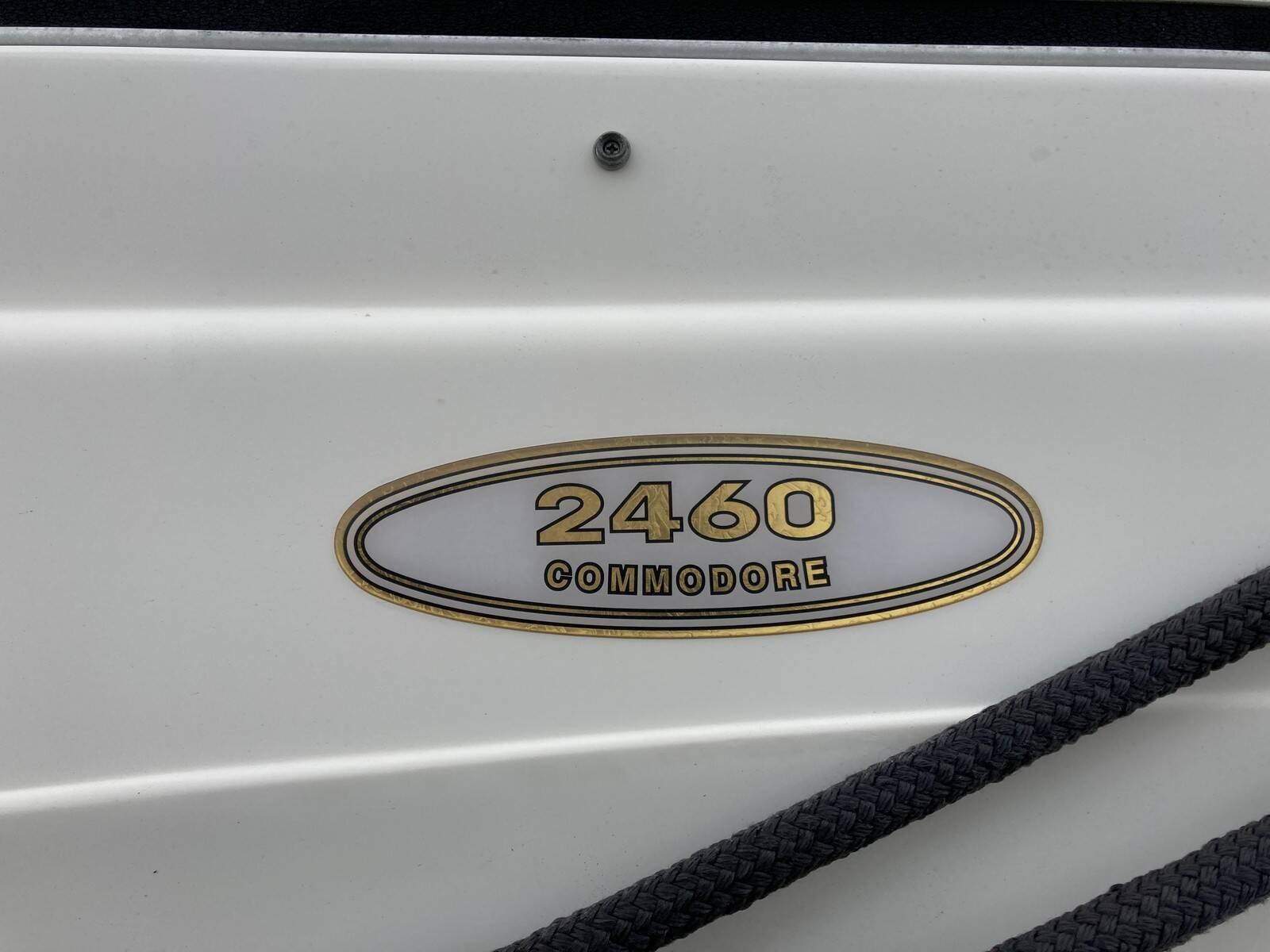 Regal 2460 Commodore Logo