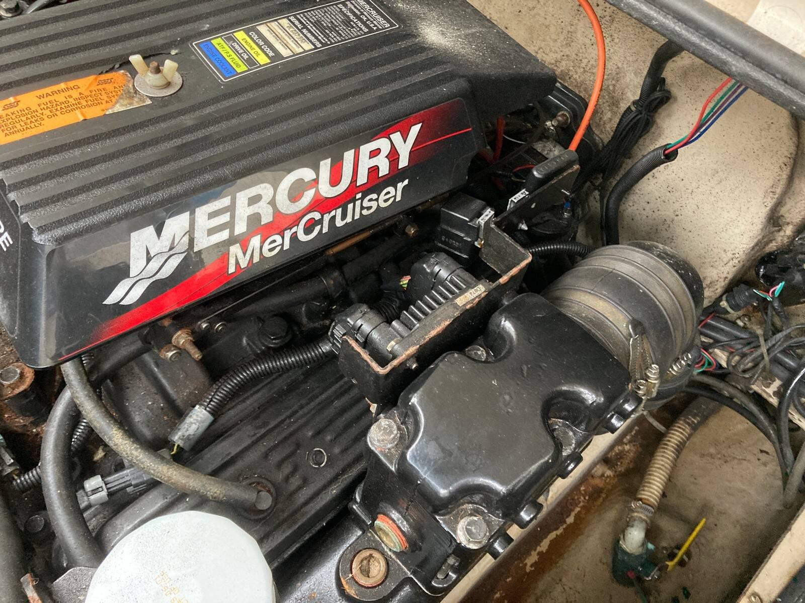 Regal 2460 Commodore Engine 2