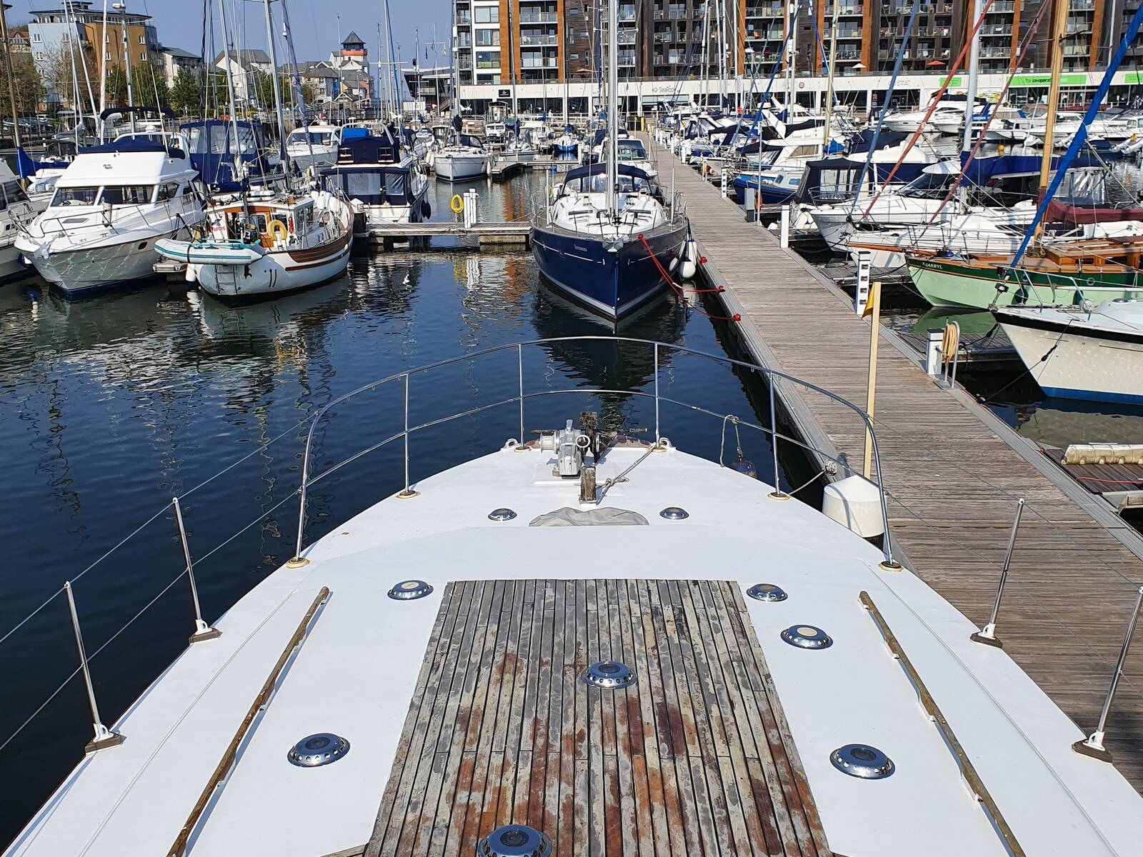 Souter 50 fore deck