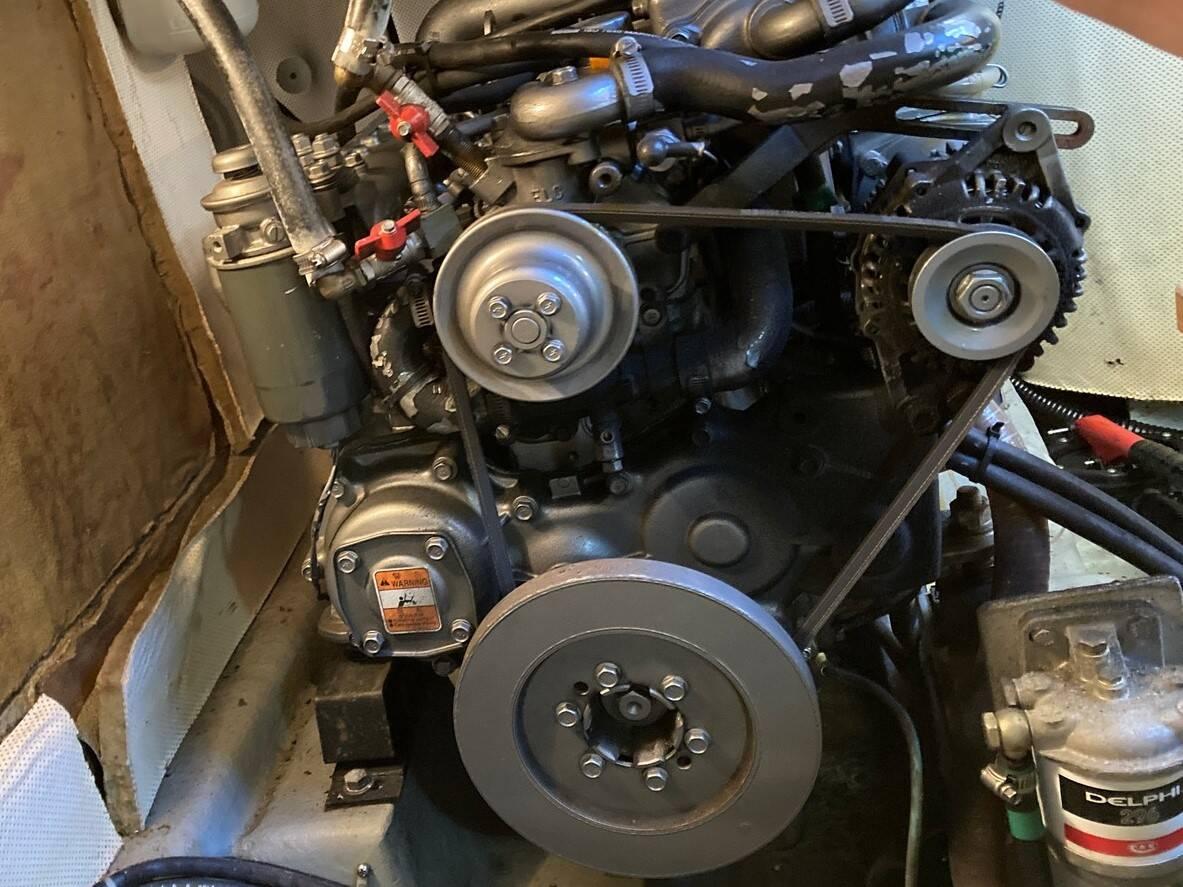 Lattitude 44 engine front
